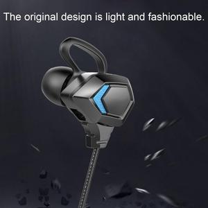 Универсальная модная цветная гарнитура BL, противоударный дизайн, игровые проводные наушники-вкладыши, E-sports, караоке, наушники с микрофоном