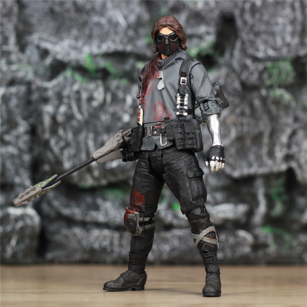 Custom Marvel James Bucky Barnes Soldier 6