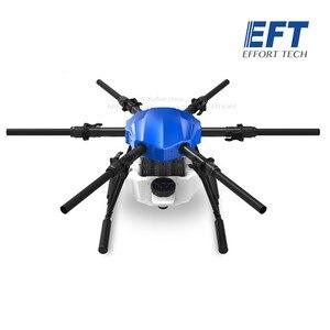 Image 3 - Eft nova atualização e610s 10l agrícola spray drone quadro seis eixo à prova dsix água dobrável drone quadro com x6 sistema de energia uav
