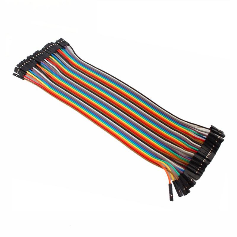 Raspberry Pi Dupont Cable 20cm Female to Female Dupont Wire Line for Raspberry Pi 4B 3B Orange Pi