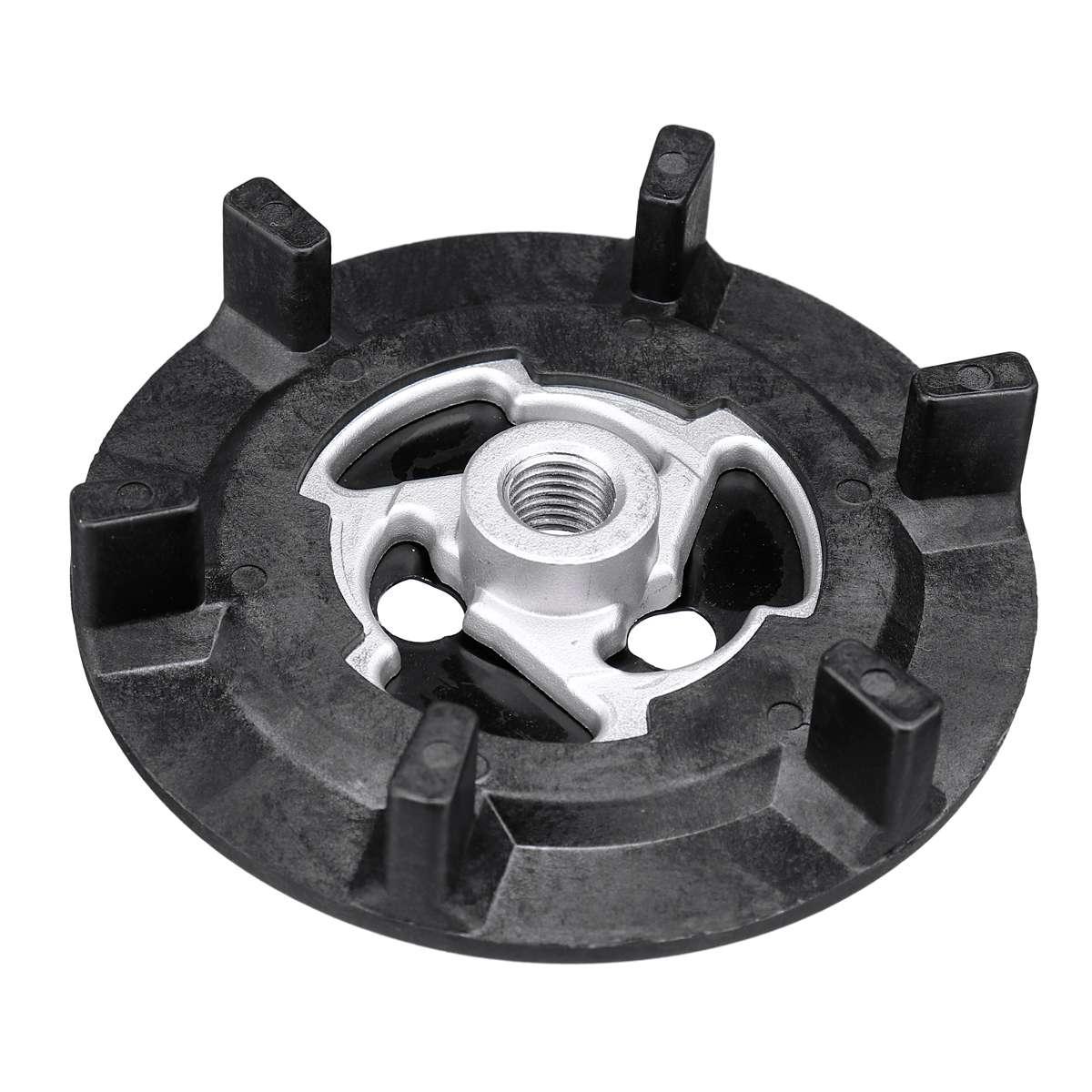 Автомобильный Кондиционер A/C муфта воздушного компрессора ступицы резины 5SE09C 5SL12C 5SEU12C 6SEU14C 6SEU17C 7SEU17C - Название цвета: Without Rubber