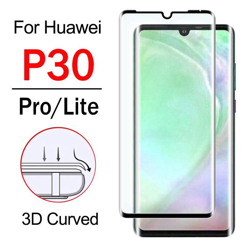 Защитное стекло P30 для Huawei P 30 Pro Lite, Защитное стекло для экрана Hwawei 30 P Light P30Pro Armor 3D, закаленное стекло 9H, пленка