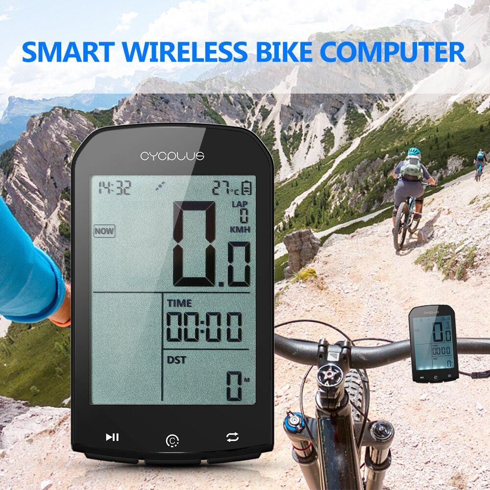 Vélo sans fil ordinateur vélo GPS Smart BT 4.0 ANT + vélo ordinateur rétro-éclairage numérique IPX6 compteur de vitesse précis pour vélo