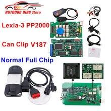 Melhor diagbox v7.83 Lexia-3 pp2000 firmware 921815c lexia 3 para citroen para peugeot para renault pode clipe v196 livre reprog v177