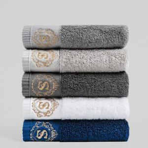 Luxury Towels Wipe Absorbent Soft Large Cotton Thicken 40x78cm Adults for Household High-Quality