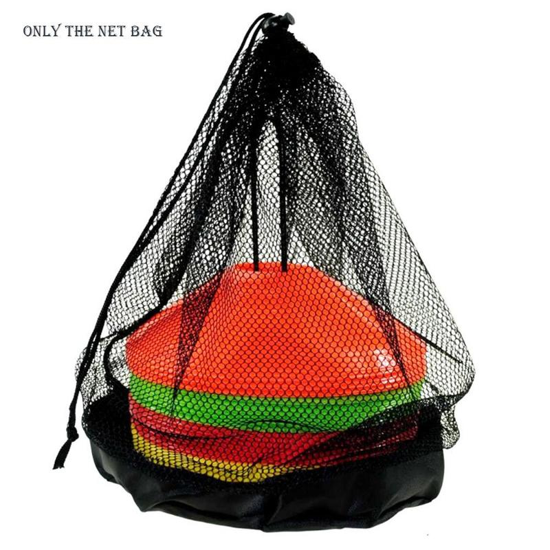 1pcs Universal Sport Ball Bag Adjustable Drawstrings Outdoor Sports Basketball Shoulder Bags Football Training Balls Storage Net