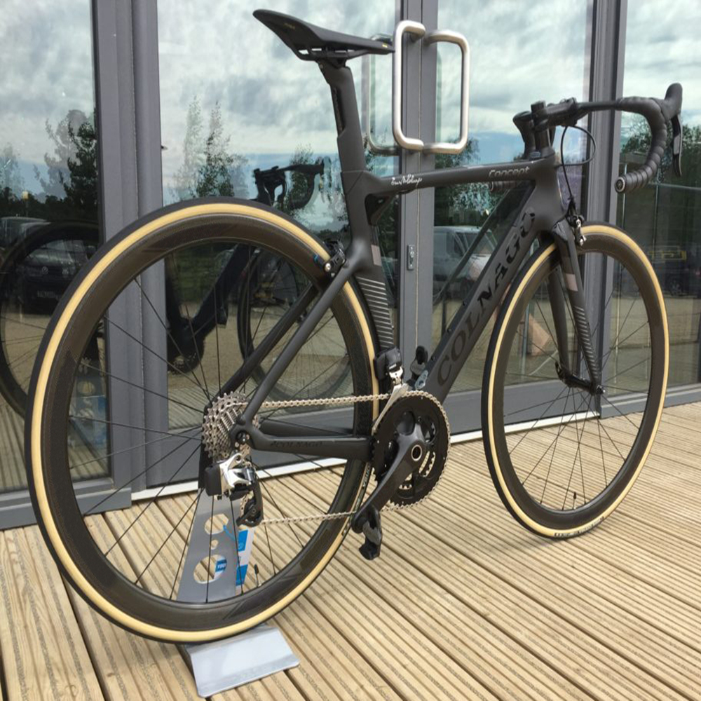 BoB Black on Black Colnago CONCEPT full Bicycle Complete carbon road bike With R8010 groupset 50mm carbon wheelset A271 hubs