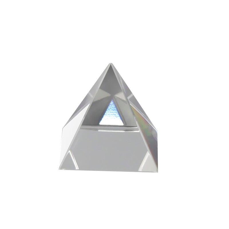 Triângulo Fotografia Luz Guia de Cristal de