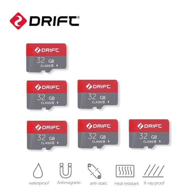 Tarjeta de memoria Drift de 32GB, tarjeta Micro SD, tarjeta flash, tarjeta Microsd TF para Cámara de Acción, cámara deportiva, cámara de motocicleta, fantasma X/XL/4K