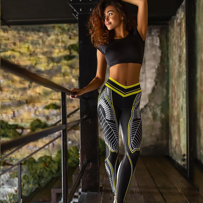 Pattern Gym Leggings 6