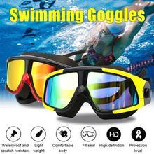 2020 Professional Silicone Swimming Goggles Anti-fog UV Swimming Glasses With Earplug for Men Women Water Sports Eyewear