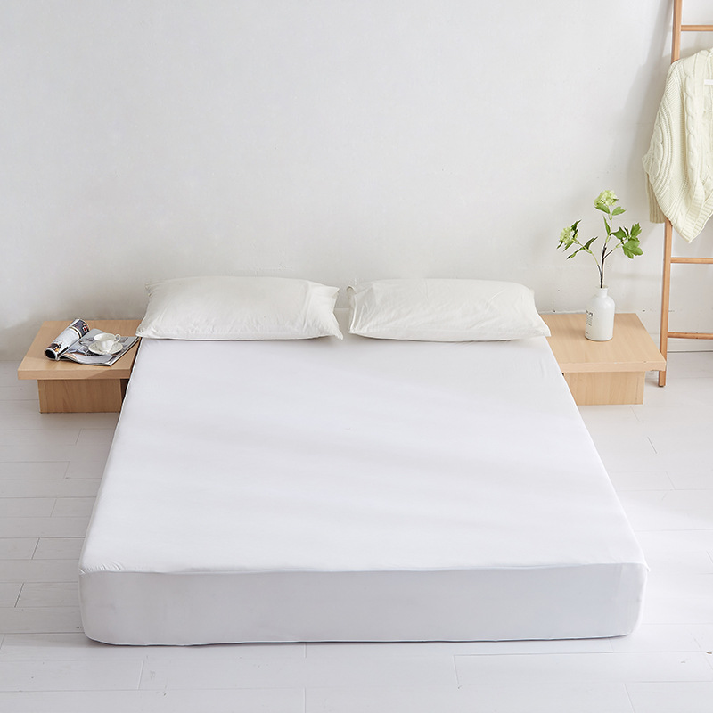 Cool Feeling Fitted Bed Sheet Breathable Mattress Cover Simmons Mattress Cover Waterproof Changing Bedspread Sheet