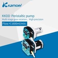 Kamoer KKDD12V/24V Peristaltic Water pump with DC Motor (silicone tube/BPT tube,Single head)
