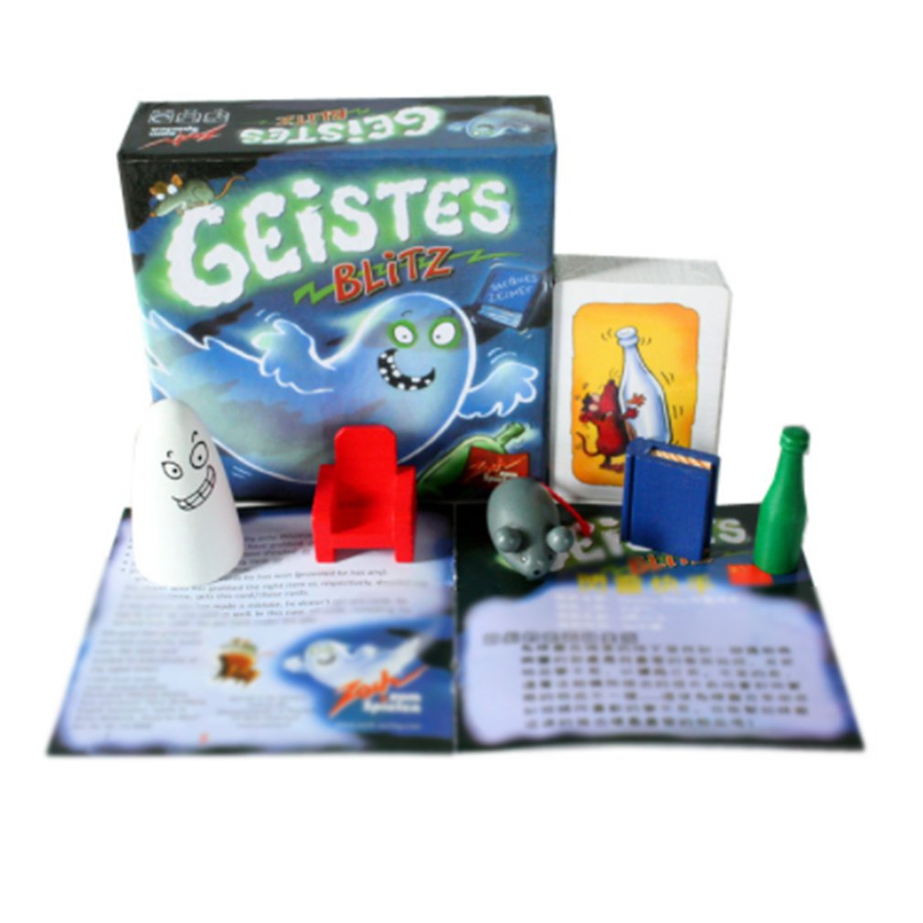 Funny Geistes Blitz Board Game Friends Party Group Game Toy Gift Entertainment Rellieve Stress Toy