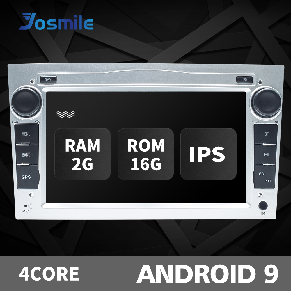 2Din Android9.0 Car No DVD Player For Opel Vectra C Zafira B Corsa D C Astra H G J Meriva Vivaro Multimedia Radio GPS Navigation