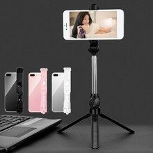 1Pcs Xt10 Selfie Stick Remote Control Telescopic Rod Desktop Live Stand Mobile Phone Tripod Selfie Stick