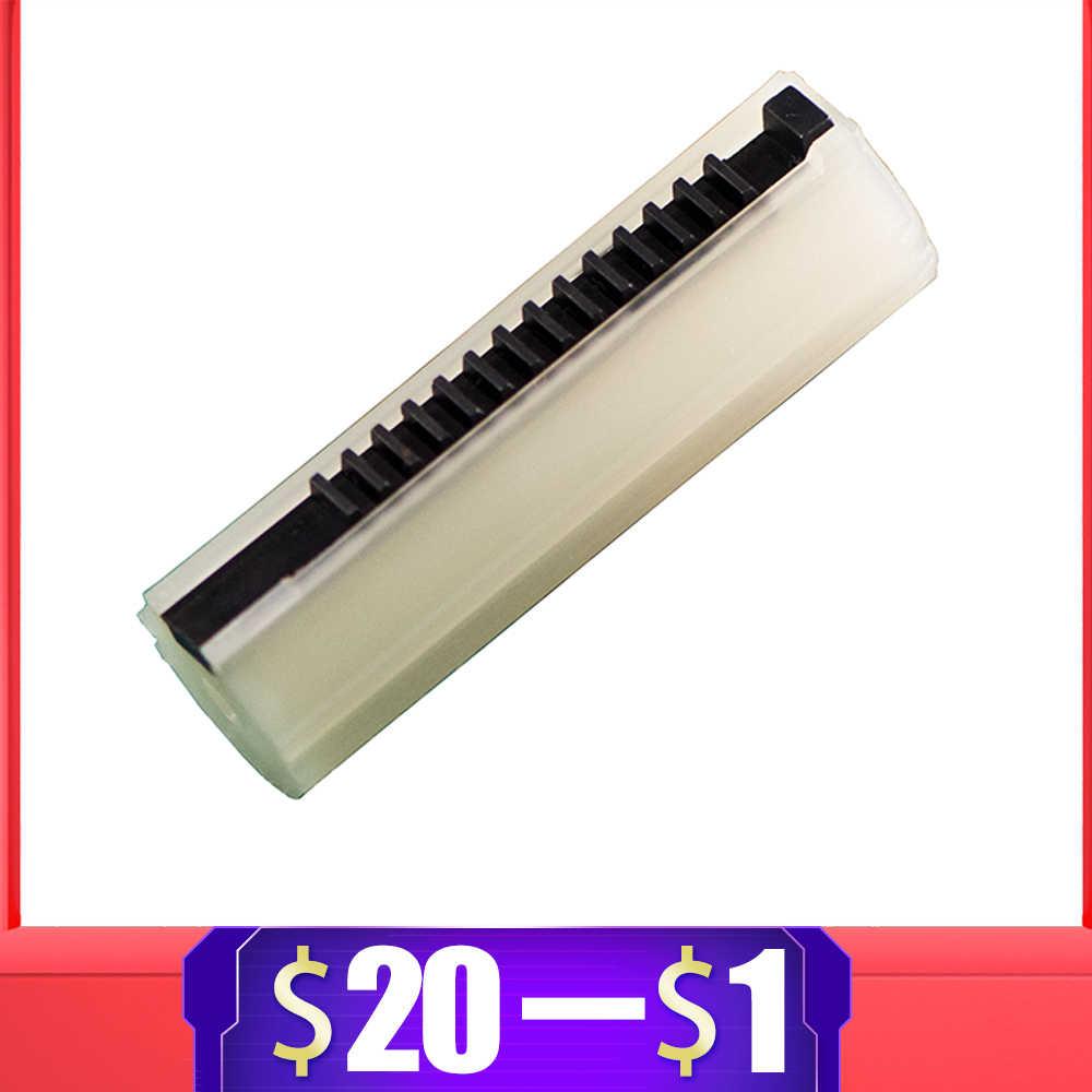 Para kublai pistão de carbono reforçado, de aço completo 14 escada para airsoft aeg gel blaster ak m4 jinming9 ver2/3 caixa de engrenagens