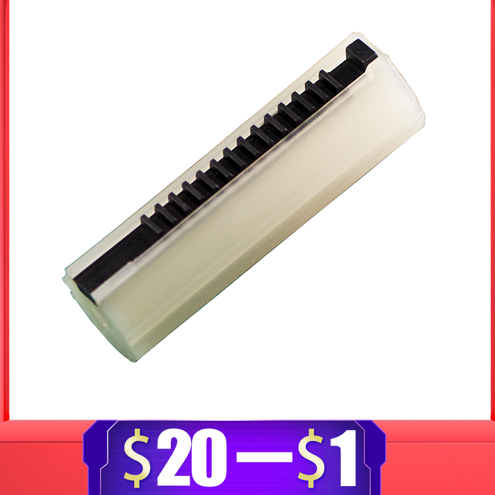 For Kublai Reinforced Carbon Piston Plastic Full Steel 14 Ladder Tooth For Airsoft AEG Gel Blaster AK M4 JinMing9 Ver2/3 Gearbox