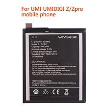 ZQTMAX 3800mAh 3.85V UMI Z PRO Replacement Battery For UMIDIGI Z/Zpro Li-ion Bateria Li-Polymer phone