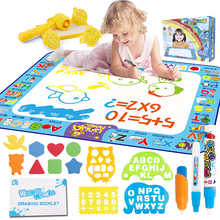 Toy Water Blanket Painting Doodle-Board Magic-Mat Canvas Graffiti Kids Children's