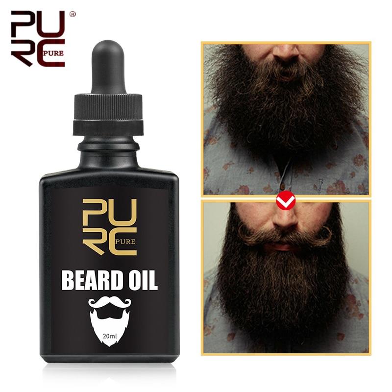 PURC Beard Oil Eliminates Itching And Anti-Dandruff Nourishing & Groomed Moisturizes Beard Oil Beard Hair Care