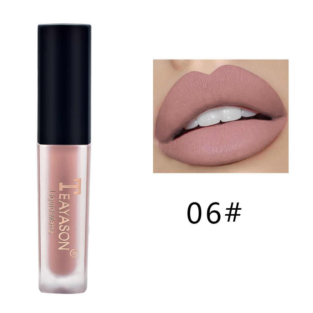 Seksi 13 Warna Lipstik Matte Tahan Lama Makeup Bibir Merah Matt Nude Gloss Kosmetik Tahan Air Matte Lipstik 2020