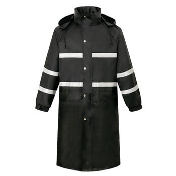 Scooter Nylon Raincoat Jacket Waterproof Adult Outdoor Men Raincoat Poncho Stylish Overall Regenjacke Rain Coat Men Long JJ60YY