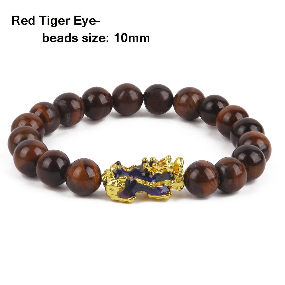 Red Tiger Eye -10mm