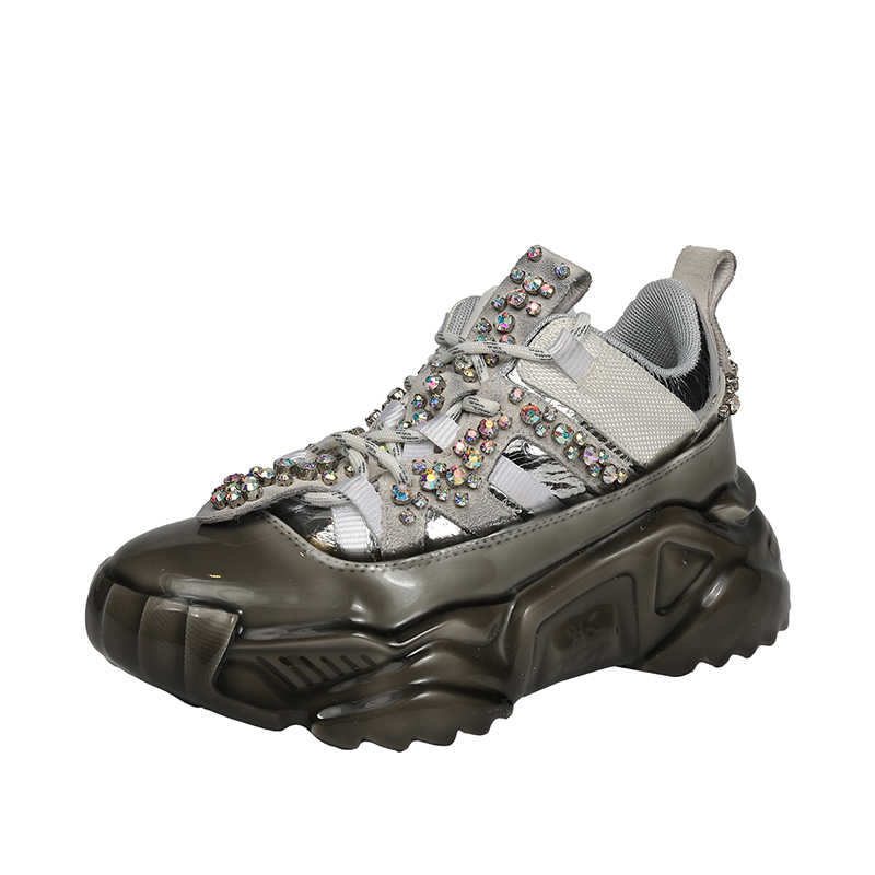 Prova Perfetto kadın ayakkabı avrupa kadın ayakkabı bahar yeni taklidi ayakkabı Ins gelgit düz ayakkabı spor ayakkabı hakiki deri