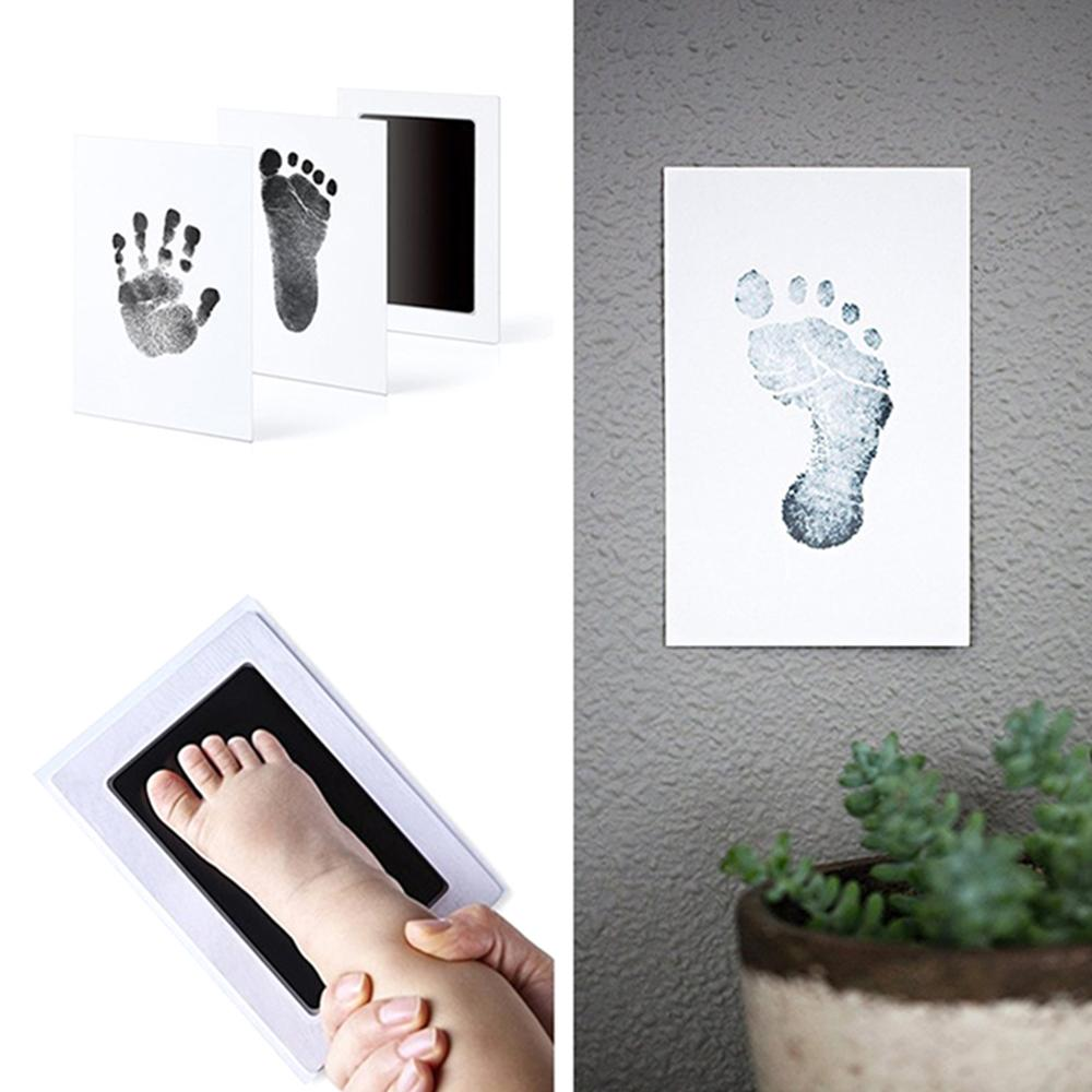 Baby Clean Inkless Touch Ink Items Baby Baby Smart Footprint Ink Handprint Mom Pad Safe Souvenir Imprint Toddler Non-Toxic Pads