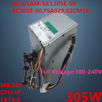 New PSU For Dell OptiPlex 760 780 MT 305W Power Supply AC305AM-S0 L305E-S0 AC305E-S0 FSA029 02CM18