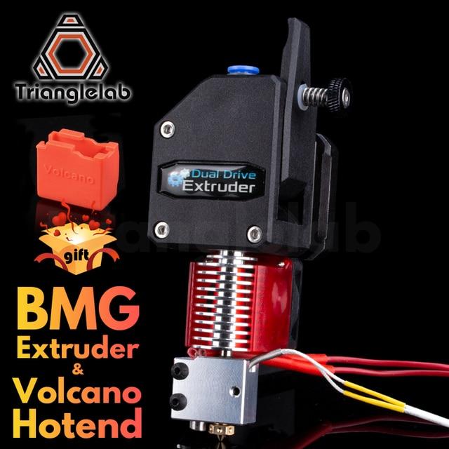 Экструдер trianglelab BMG VOLCANO HOTEND MK8 Bowden, экструдер с двойным приводом для 3d принтера, высокая производительность для I3 printe