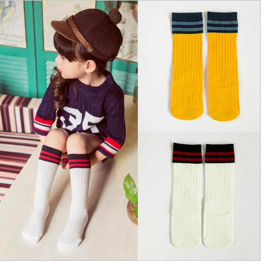 Cartoon Baby Leg Warmer Infant Toddler Boys Kneepads Ruffles Knee High Socks For Girls Spring Summer