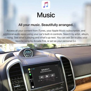 Image 3 - Sinairyu OEM אלחוטי Apple CarPlay עבור פורשה PCM 3.1 2010 2016 קאיין Macan קיימן וקסטר 911 אנדרואיד אוטומטי מראה רכב לשחק