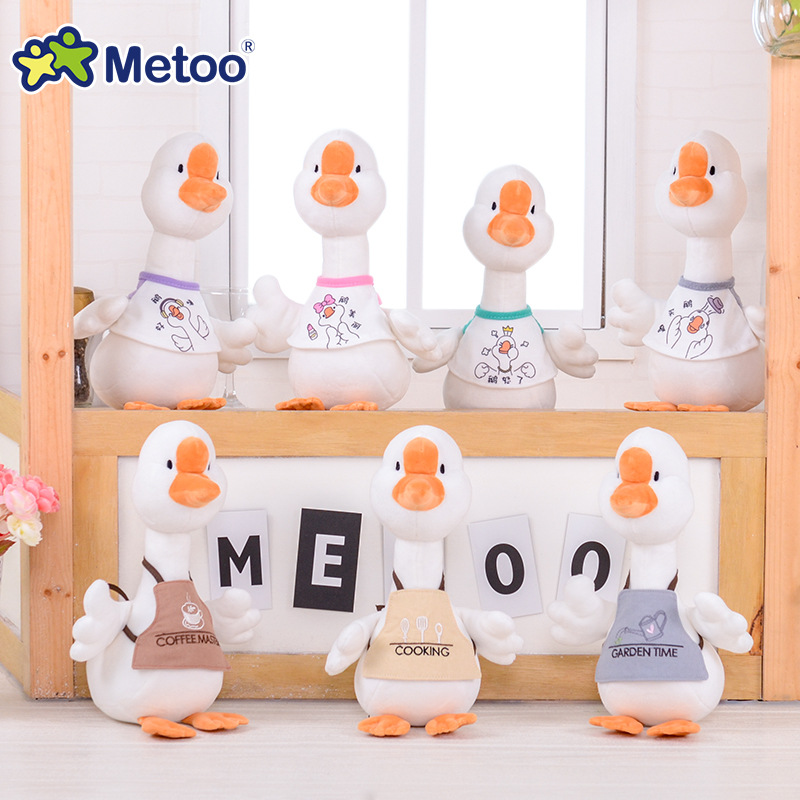 32cm Metoo Doll Stuffed Toys Plush Animals Kids Toys For Girls Children Boys Baby Plush Toys Cartoon Lucky Goose Soft Toys