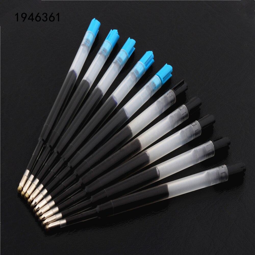 5 шт. Высокое качество гелевые заправки Средний наконечник черные, голубые чернила заправки шариковая ручка новая Алмазная ручка Чернила Канцелярские Принадлежности| |   | АлиЭкспресс