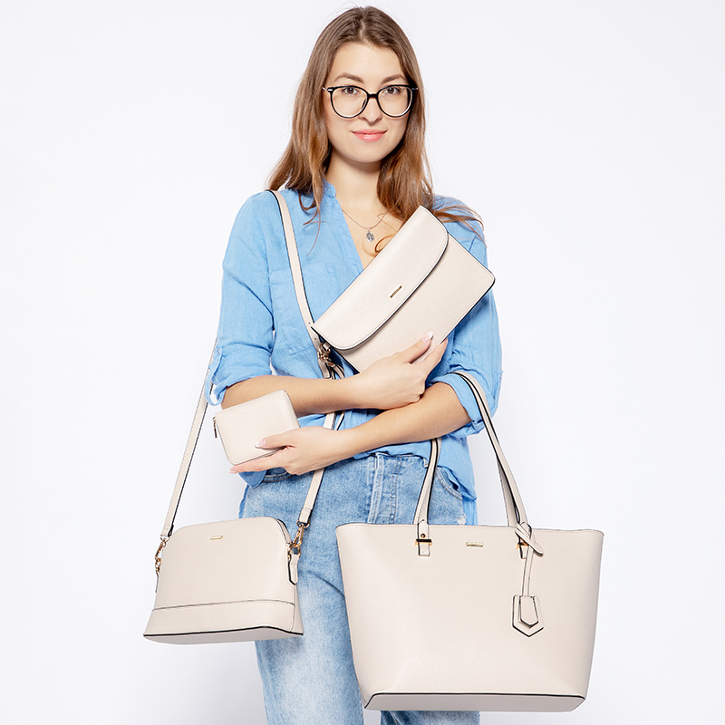 H8cdb335e6b294deb87db7550ccf1f683O - women shoulder bags crossbody bags for ladies large tote bag set 3 pcs clutch and purse luxury handbag women