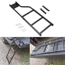 Bed-Ladder Truck Cargo-Accessories Tailgate Step Universal Pickup with Stainless-Steel
