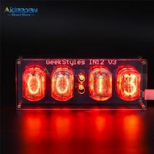 Micro USB IN12 IN-12 PCBA Glow Tube DIY Retro Clock Module Nixie Tube Micro USB 5V 1A Digital LED Clock Circuit Board PCBA DIY