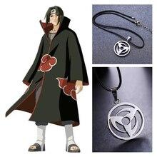 Keychain Jewelry Necklace Sharingan-Pendant Cosplay-Accessories Anime Naruto Kakashi