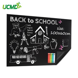 200x50cm Wasserdicht Tafel Vinyl Unentschieden Aufkleber Staubfreie Kreide Lernen Schreiben Zeichnung Graffiti Bord Büro Schule Liefert