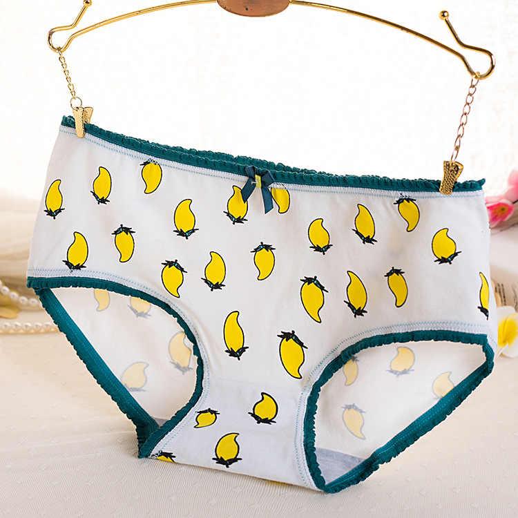 3 ชิ้น/ล็อตชุดชั้นในผู้หญิงชุดชั้นในเซ็กซี่พิมพ์กางเกงUnderpant Calcinhasหญิงกางเกงกางเกงไม่มีรอยต่อน่ารัก