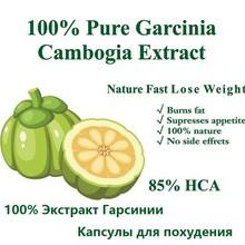 1 упаковка/100 шт Чистый экстракт гарцинии камбоджийской 85% HCA диета для похудения продукт для женщин быстрый набор инструментов