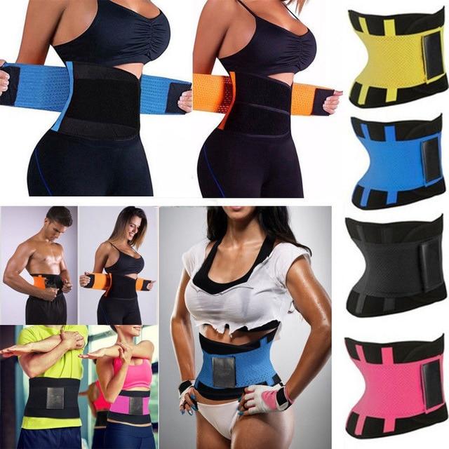 Women Body Waist Belt Shapers Unisex Cincher Trimmer Tummy Slimming Belt Latex Waist Trainer Woman Postpartum Corset Shaper 1