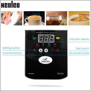 Image 4 - Xeoleo 20L給湯器商業給湯マシン 60L/hブラックステンレス鋼水ボイラーバブル茶ショップ 3000 ワット