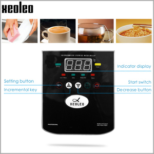 Image 4 - Xeoleo 20L Hot Water dispenser Commercial Hot Water machine 60L/H Black Stainless steel Water boiler for bubble tea shop 3000W