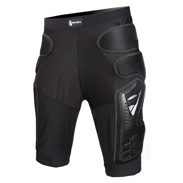 WOSAWE Motocross Body Armor Jacket Vest Gilet Protective Gear Shorts MTB Windbreaker Coat Chest Back Support Motorcycle Armor 5