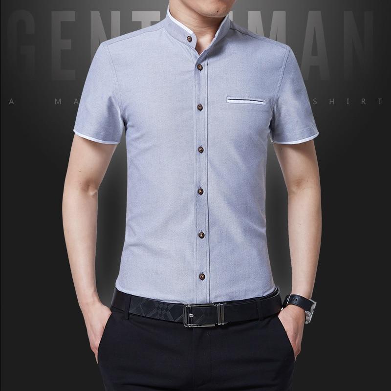 Men Shirt Business Business No Ironing Wechat Business Slim Fit Semi-Summer-Inch Formal Wear Shirt White Shirt MEN'S Short Sleev