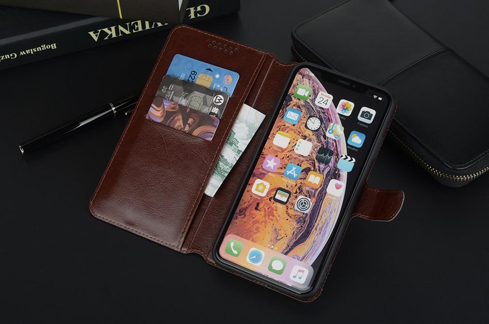 Flip Case for Xiaomi Mi 9T Pro CC9 Meitu A1 A2 A3 Lite Pocophone F1 Mi 6X 5X Play Black Shark Leather Wallet Phone Case Cover