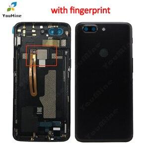 Image 3 - OnePlus 5T için pil kapağı arka kapı konut Case değiştirme OnePlus 5T için arka konut için bir artı 5T A5010 arka konut